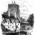 Chirk village Drawing